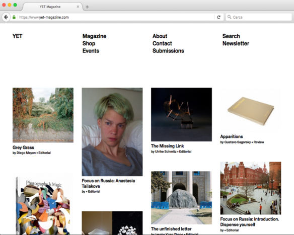 YET Magazine Website