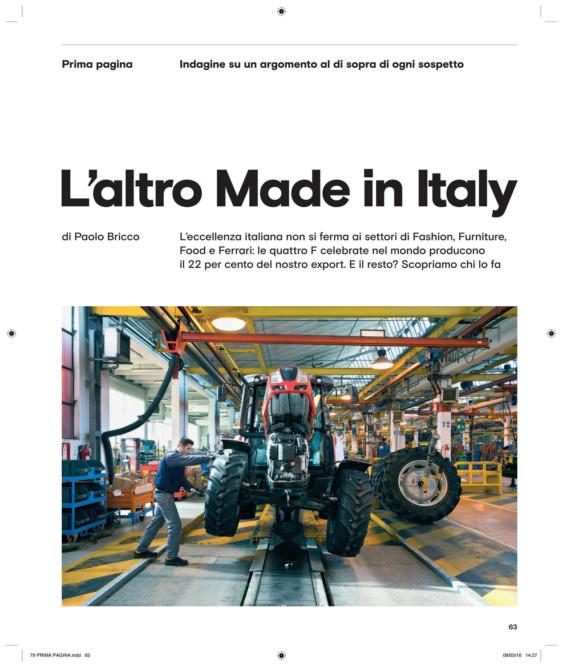 IL - Idee e Lifestyle del Sole 24 ORE, March 2016, p. 63