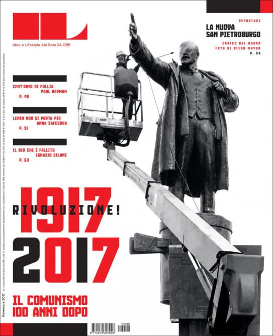 IL - Idee e Lifestyle del Sole 24 ORE (#IL96), November 2017, Cover