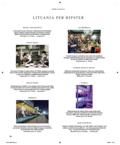 IL - Idee e Lifestyle del Sole 24 ORE, June 2017, p. 84