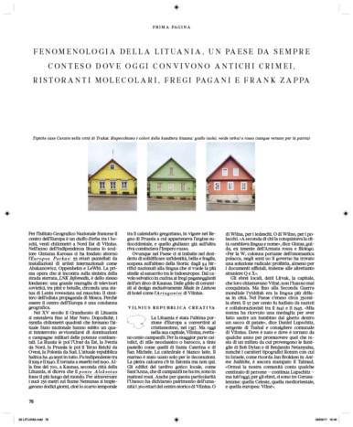 IL - Idee e Lifestyle del Sole 24 ORE, June 2017, p. 78