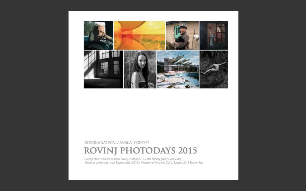 Rovinj Photodays 2015 catalogue - cover