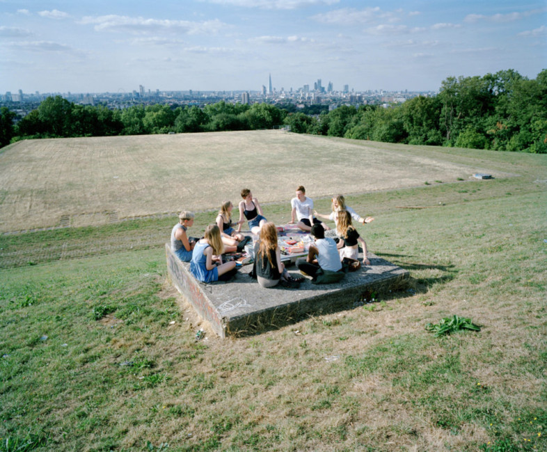 Borough of Southwark: the view of central London from Nunhead.