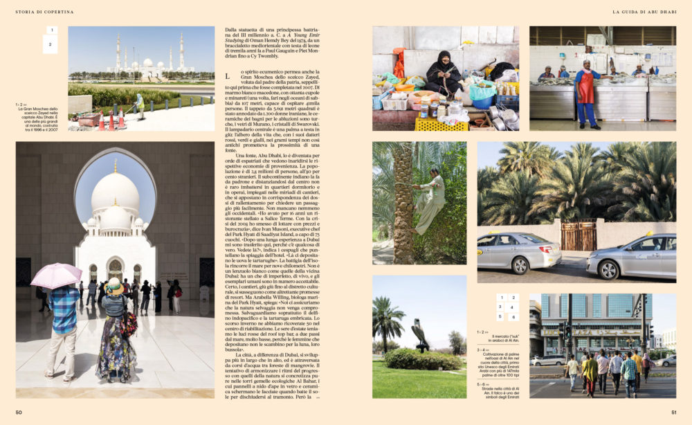 IL 94, September 2017 - Hipster Guide UAE - Text by Enrico Dal Buono, pp. 50-51