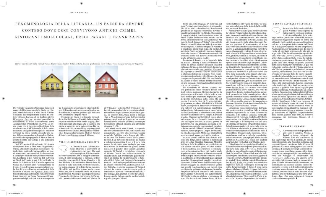 IL - Idee e Lifestyle del Sole 24 ORE (#IL93), June 2017, pp. 78-79