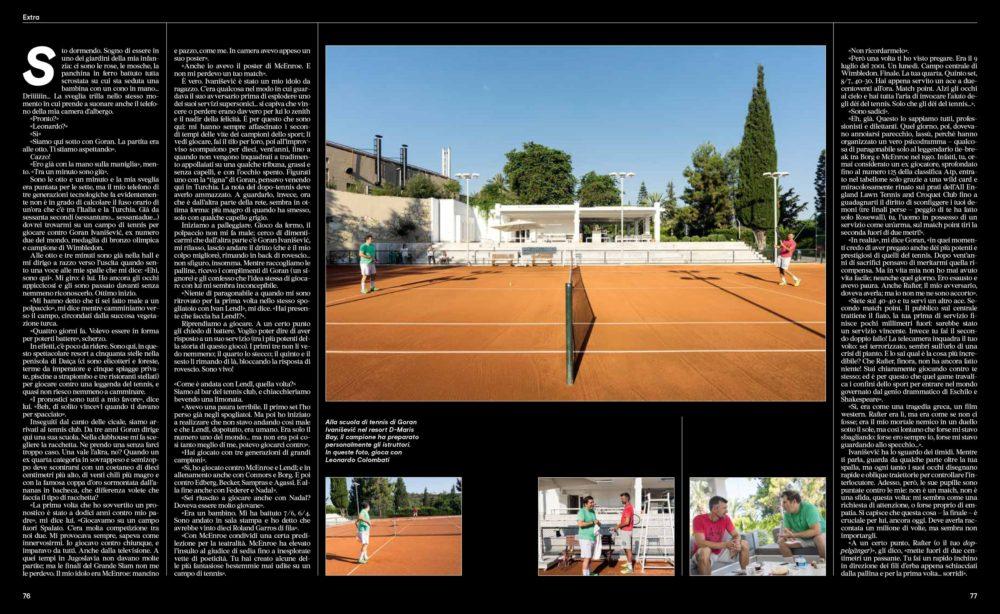 IL - Idee e Lifestyle del Sole 24 ORE (#IL95), October 2017 - Text by Leonardo Colombati, pp. 76-77