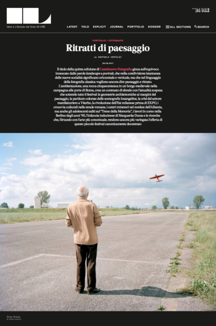 IL Magazine Web - Text by Raffaele Vertaldi, October 2017