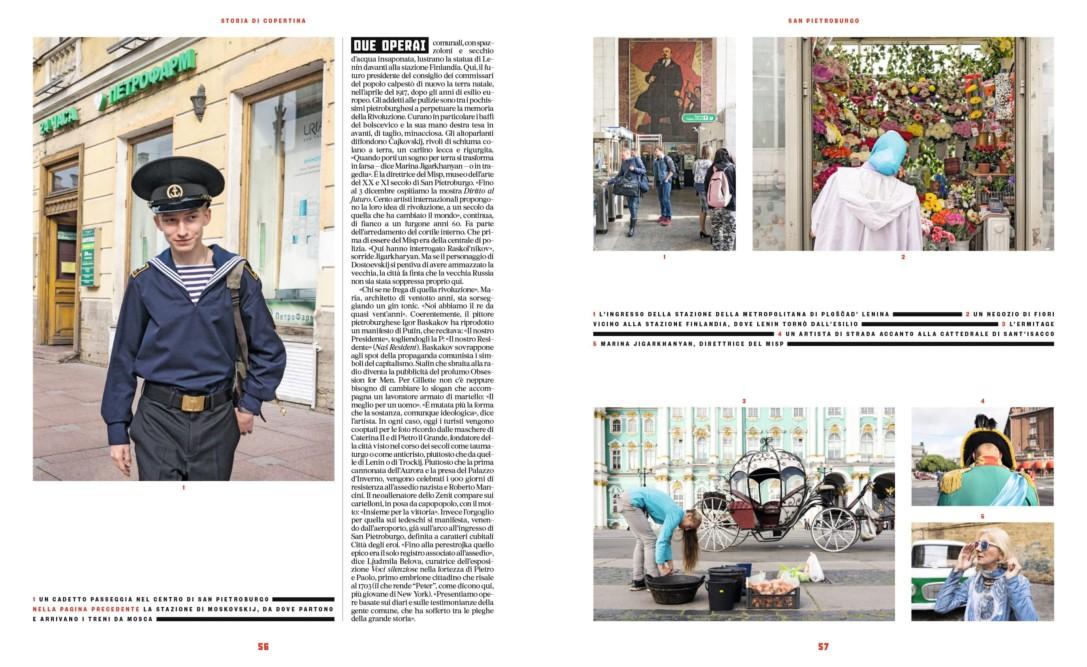 IL - Idee e Lifestyle del Sole 24 ORE (#IL96), November 2017 - Cover Story - Text by Enrico Dal Buono, pp. 56-57