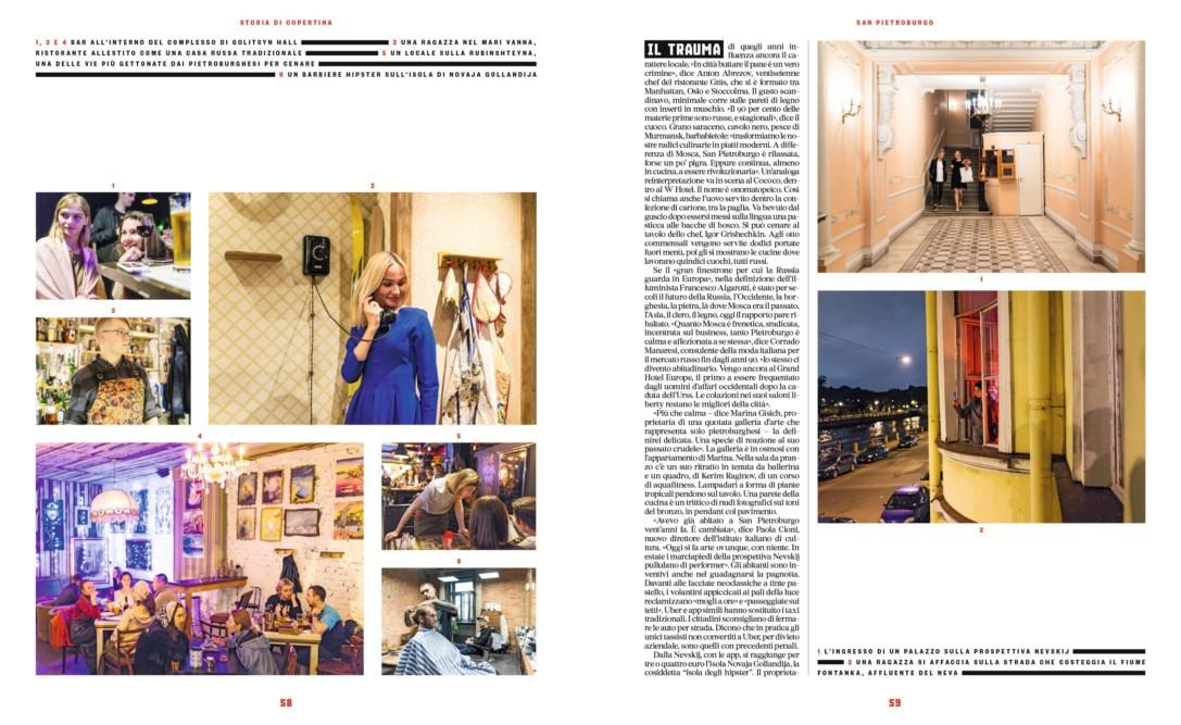 IL - Idee e Lifestyle del Sole 24 ORE (#IL96), November 2017 - Cover Story - Text by Enrico Dal Buono, pp. 58-59