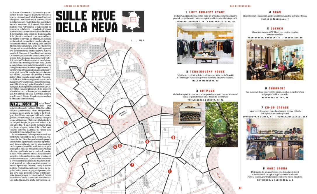IL - Idee e Lifestyle del Sole 24 ORE (#IL96), November 2017 - Cover Story - Text by Enrico Dal Buono, pp. 60-61