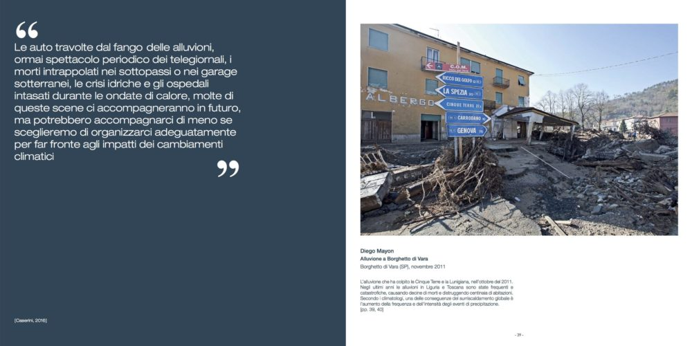 Gli impatti dei cambiamenti climatici in Italia - Fotografie del presente per capire il futuro - October 2017, Edizioni Ca' Foscari, pag. 39