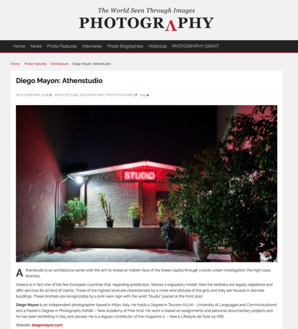 Photogrvphy Magazine Web - Athenstudio - February 2018