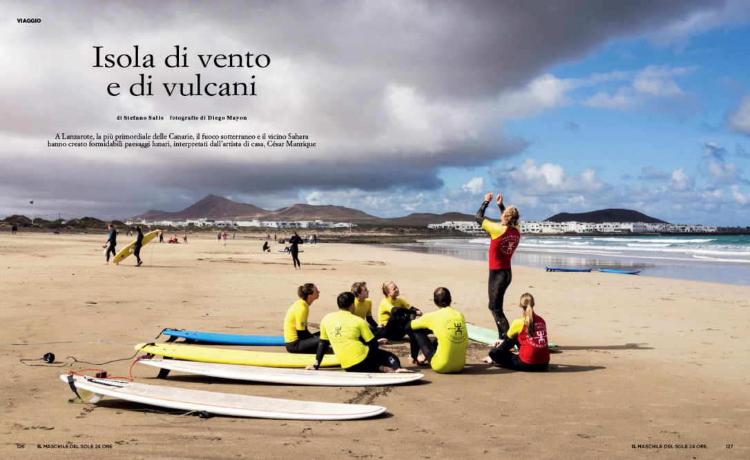 IL Magazine, The guides of IL, pp.126-127 - Isola di vento e di vulcani - Text by Stefano Salis, May 2018