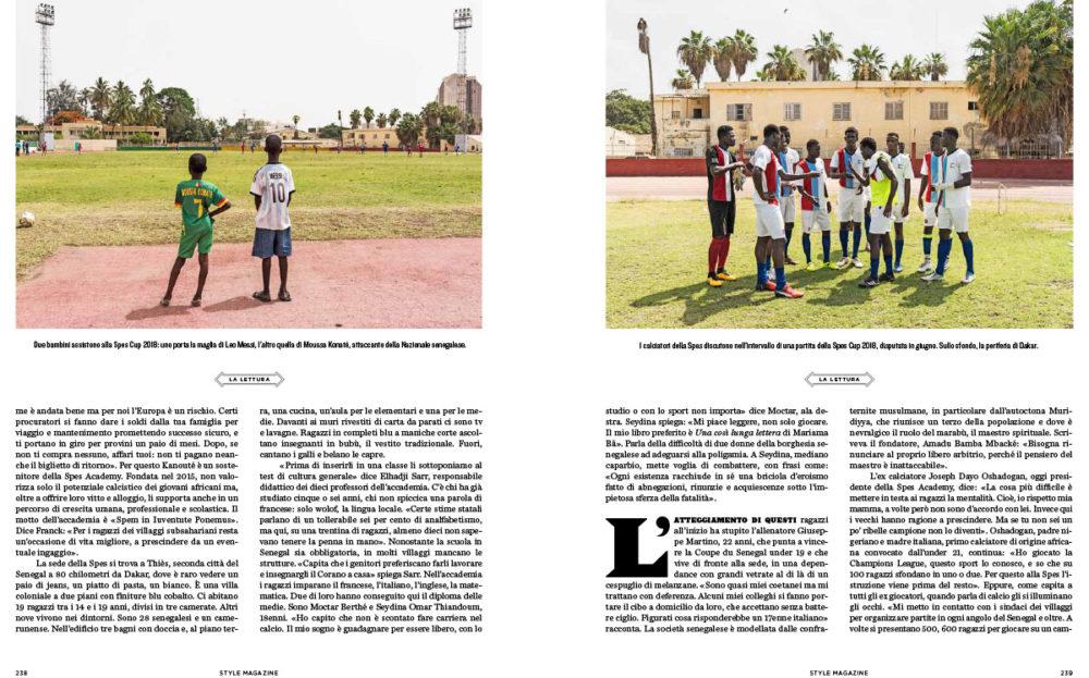 Style Magazine - Il Corriere della Sera, October 2018