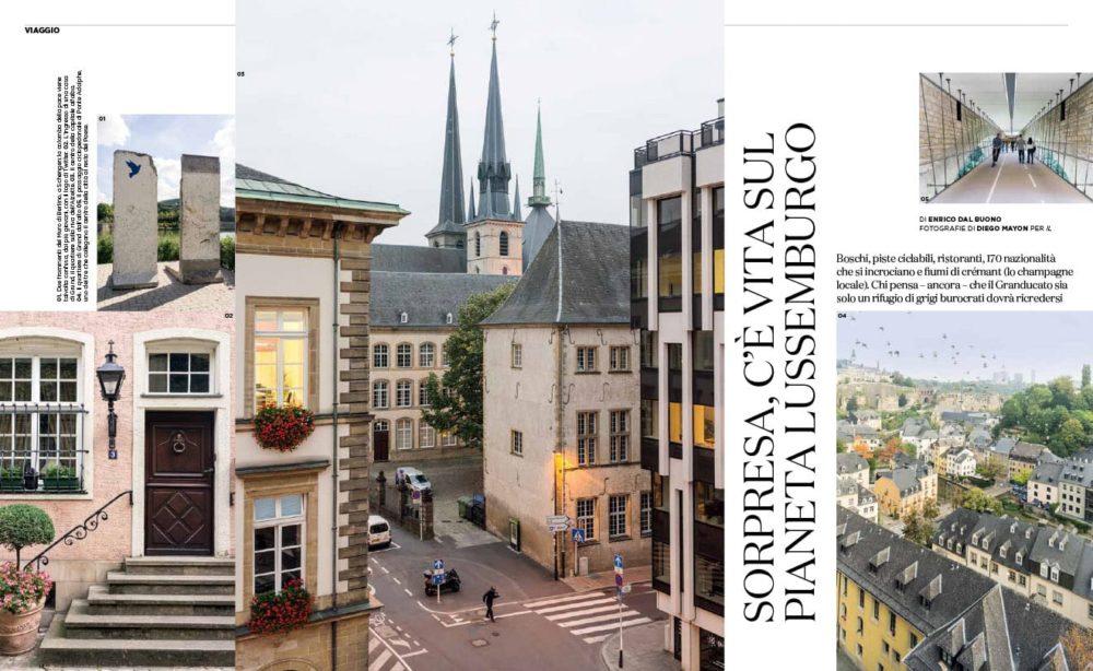 VIAGGIO Lussemburgo - IL Magazine, pp. 82-83 - Text by Enrico Dal Buono, January 2019