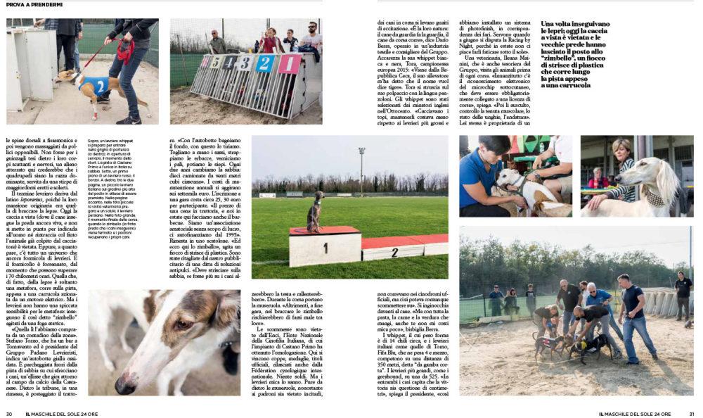 IL#111, pag. 30-31. Text by Enrico Dal Buono