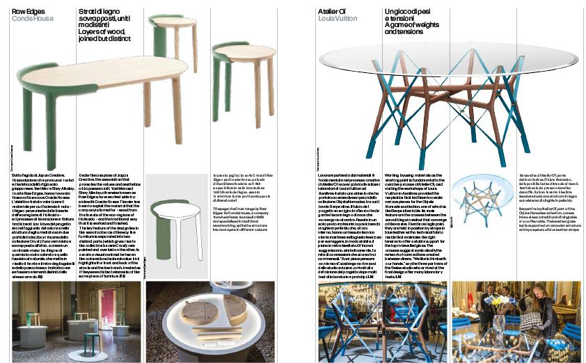 Domus Magazine, May 2019 - Report Milan Design Week 2019, May 2019 - Text by Elena Sommariva, Jessica Mairs and Loredana Mascheroni