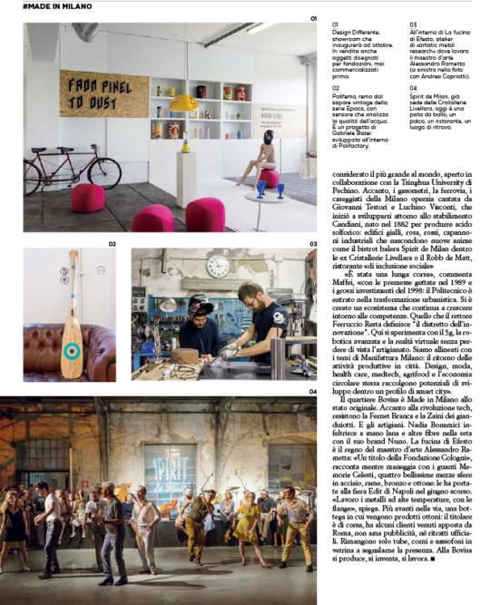 IL Magazine - Quartiere Bovisa di Milano. Text by Sara Deganello