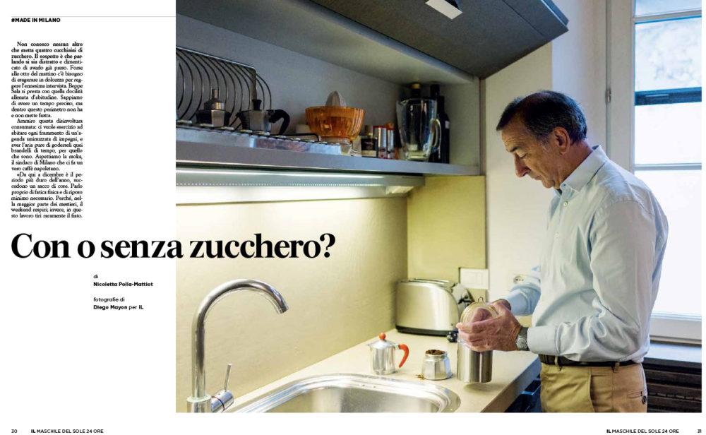 IL Magazine - Sindaco di Milano Beppe Sala. Text by Nicoletta Polla Mattiot