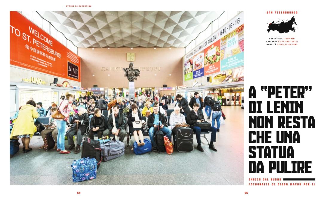 IL - Idee e Lifestyle del Sole 24 ORE (#IL96), November 2017 - Cover Story - Text by Enrico Dal Buono, pp. 54-55