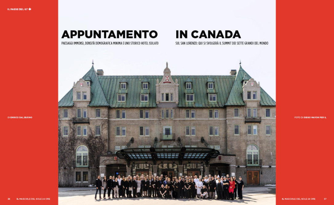 IL Magazine, The guides of IL, pp.36-37 - Appuntamento in Canada - Text by Enrico Dal Buono, June 2018