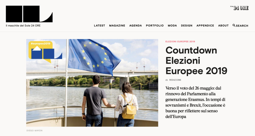 IL Website - Special European Elections - May 2019