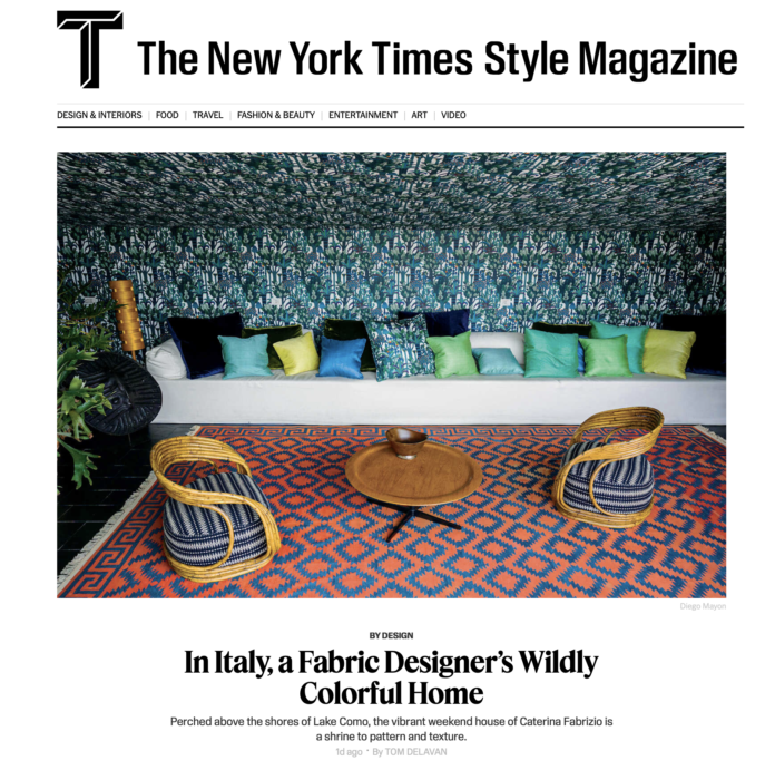 Dedar on T - The New York Time Style Magazin (Website)